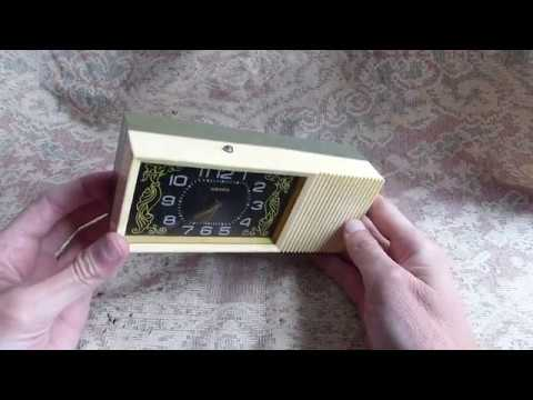 Часы-будильник Наири СССР