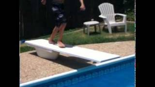 Reverse pool jump!!