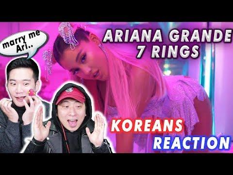 [ENG SUB]🔥KOREAN BOYS React to ARIANA GRANDE - 7 RINGS
