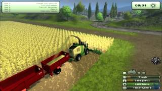 Farming Simulator 2013: How to farm. Maze For The Biogas Plant. Part 1/2 (Tutorial. 9/9)