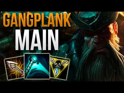 CHALLENGER GANGPLANK MAIN SHOWS YOU HOW TO CARRY | CHALLENGER GANGPLANK TOP GAMEPLAY | Patch 9.17 S9