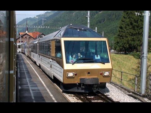 Train du chocolat - Golden Pass Panoramic Express