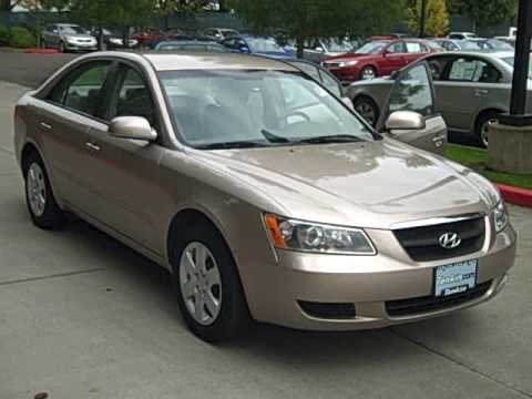 2008 Hyundai Sonata 4 Cylinder 5 Speed Automatic Well Equipped