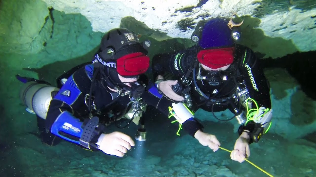 Cave Diving In Mexico With Steve Martin