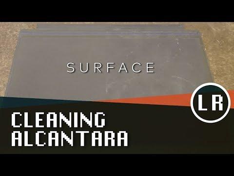 Surface: Cleaning Alcantara