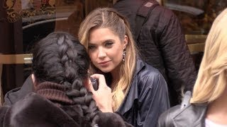 Baixar EXCLUSIVE : Ashley Benson comes out of the Bristol hotel in Paris