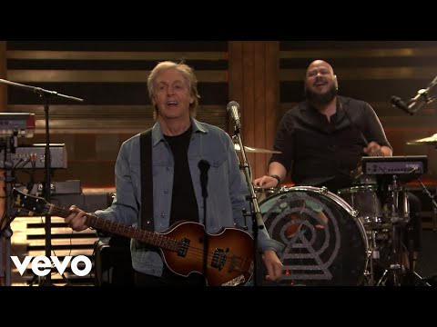 Paul McCartney - Come On To Me (Live from the Tonight Show with Jimmy Fallon)