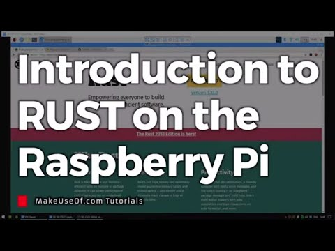 Introduction To RUST On The Raspberry Pi