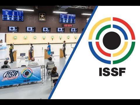 10m Air Pistol Men Final - 2018 ISSF World Cup Stage 3 in Fort Benning (USA)