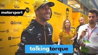 Daniel Ricciardo Exclusive Press Interview   Behind Formula 1