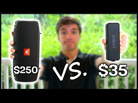 $35 vs. $250 Bluetooth Speaker!