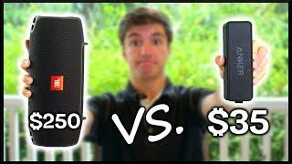 $35 vs. $250 Bluetooth Speaker!