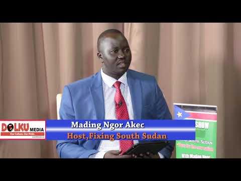 Nyuol Justin Yaac Defends South Sudan Human Rights Commission