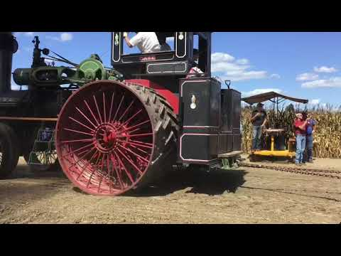 Steam Powered Tractors Plowing At The Half Century Of Progress Show
