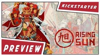 Kickstarter Preview  | Rising Sun | CMON | Eric M. Lang | German/English