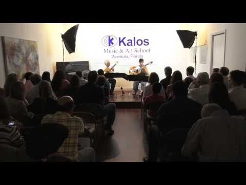 Duo Montes Kircher at Kalos Music & Art School in Aventura, Florida