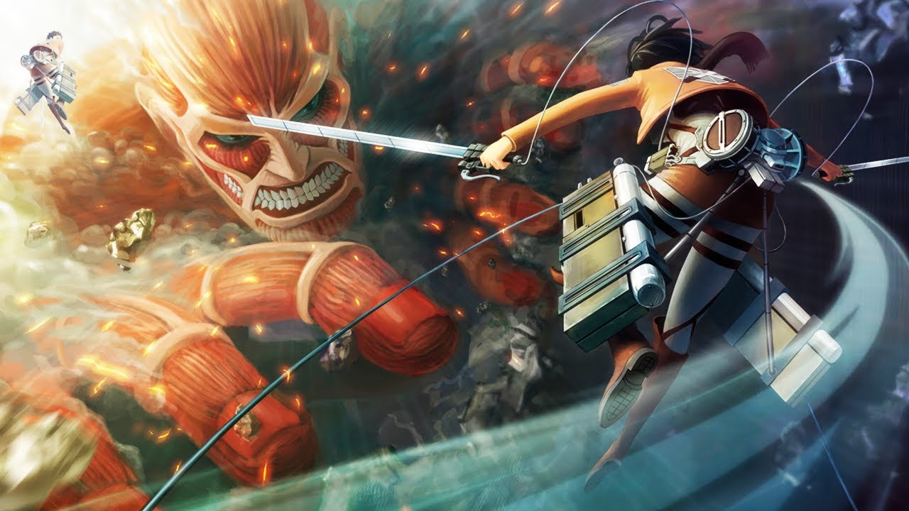 Attack on Titan 3DS Game Coming to North America! - YouTube