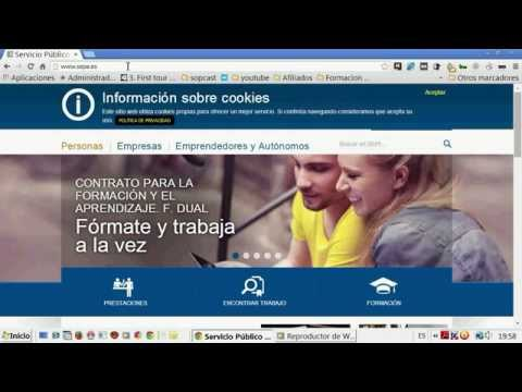 Como pedir cita previa en el SAE (Servicio Andaluz de Empleo) from YouTube · Duration:  1 minutes 40 seconds