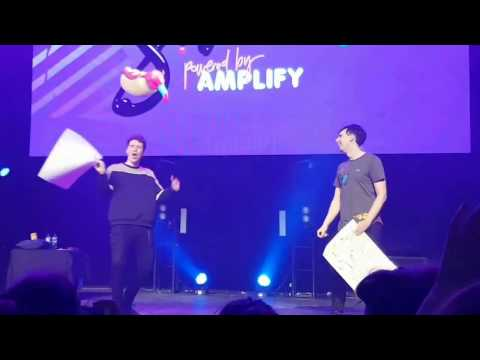 Dan and Phil FULL VIDEO Live at Cool for Summer Festival Melbourne Australia 17/04/2017 HD