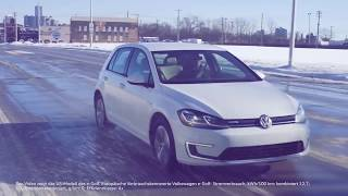 Новий електрокар Volkswagen e-Golf
