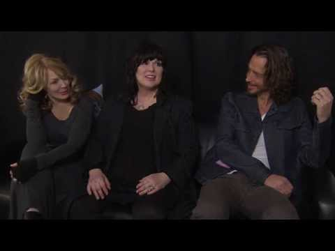Backstage with Ann and Nancy Wilson of Heart, and Chris Cornell