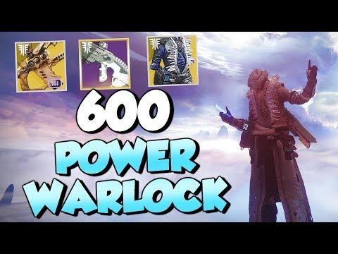 My 600 Power Warlock! All Weapons and Gear [Destiny 2 Forsaken]