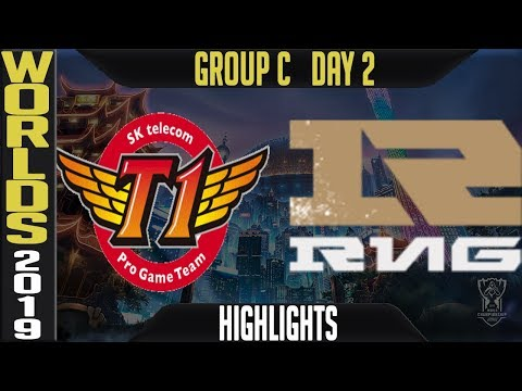 SKT vs RNG Highlights Game 1 | Worlds 2019 Group C Day 2 | SK Telecom T1 vs Royal Never Give Up