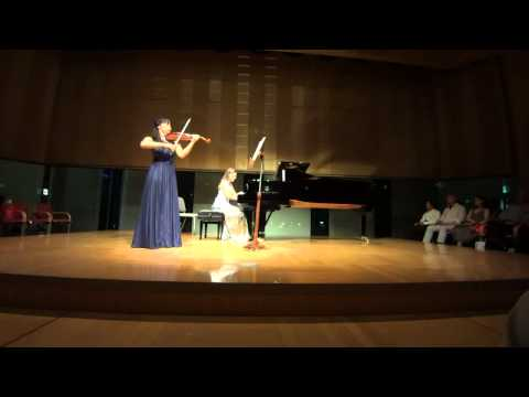 Carl Engel: Sea Shell for violin & piano / Ami Yokoyama & Sara Costa