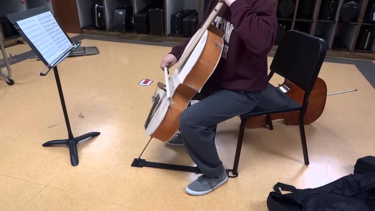 how to make a homemade cello