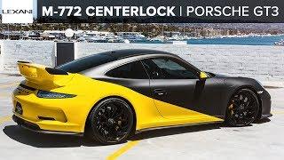 PORSCHE GT3 // WCC Custom Wrap // LF Monoblock Sport Series