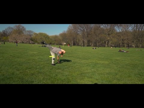 Freestyle Frisbee: Krae Van Sickle