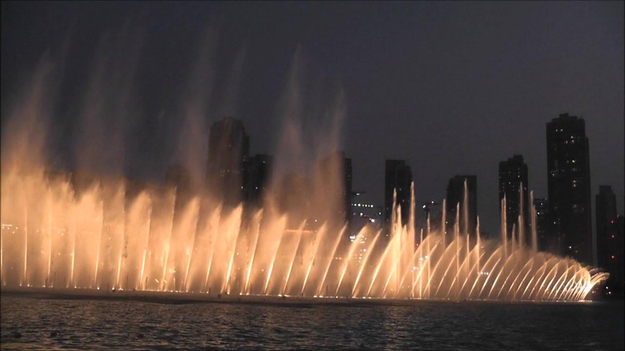 Dubai Fountain Unknown Theme Song 1080p Youtube