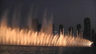 Dubai Fountain - (Unknown) Theme song [1080p]