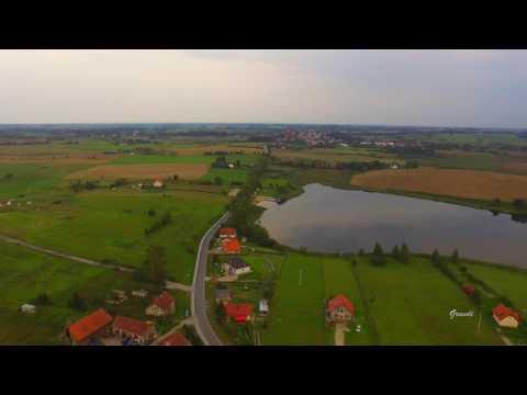 Warmia - Jeziorany i okolice z drona