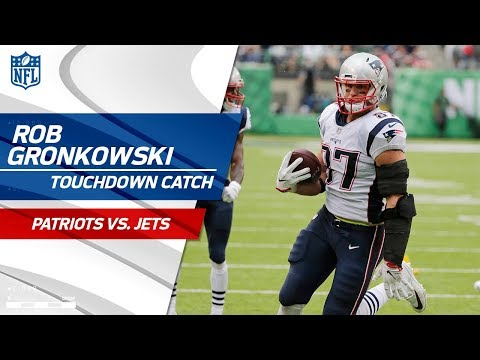 Brady Connects w/ Gronk for a Huge TD to Take the Lead! | Patriots vs. Jets | NFL Wk 6 Highlights