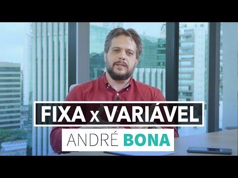 André Bona: Renda Fixa Vs Renda Variável: Onde investir?