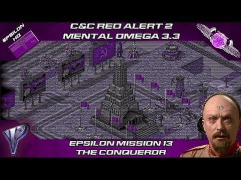 Mental Omega 3.3.1 C&C Red Alert 2 - Time Machine from Red Alert 3 in The Conqueror