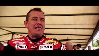23 Time TT Winner John McGuiness on Riding the Honda RC213V-S at FoS