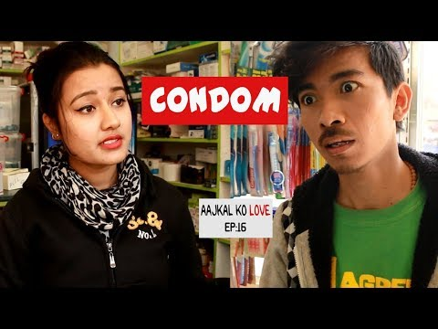 CONDOM | AAJKAL KO LOVE | Episode 16 | New Nepali Short Comedy Movie | Colleges Nepal