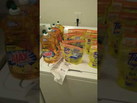 Cheap Yellow Tide Simply Pods And Dish Liquid At Dollar General And Family Dollar!