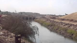 قناة السويس الجديدة :فيديو حصرى لفتحة ترعة السلام أسفل قناة السويس قبل تحويل مسارها