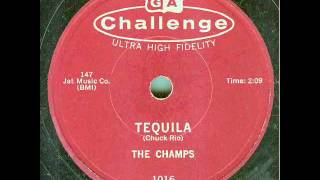 The Champs - Tequila (original 78 rpm)