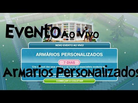 Evento ao vivo arm rios personalizados the sims - Armarios personalizados ...