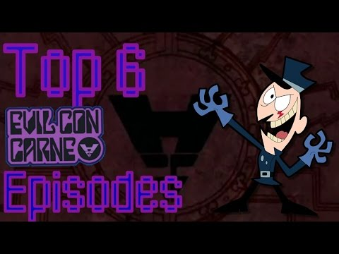 Top 6 Favorite Evil Con Carne Episodes