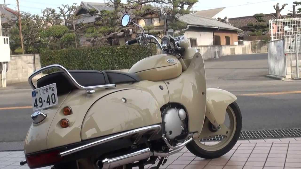 画像: 女性ライダー ツーリング SW1 Suzuki NJ45A SW-1 スズキ・SW-1 youtu.be