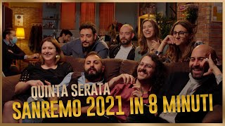 The Jackal - SANREMO 2021 in 8 minuti - Quinta Serata
