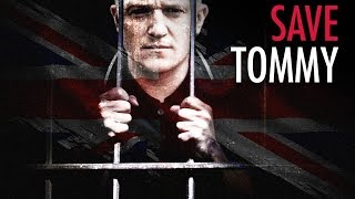AUTHORIZED by Tommy Robinson's family: SaveTommy.com legal defence fund