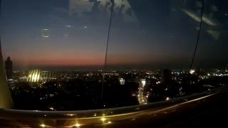 Day to Night Time-Lapse Skybar Bangkok Chinatown Sky View Grand China Princess