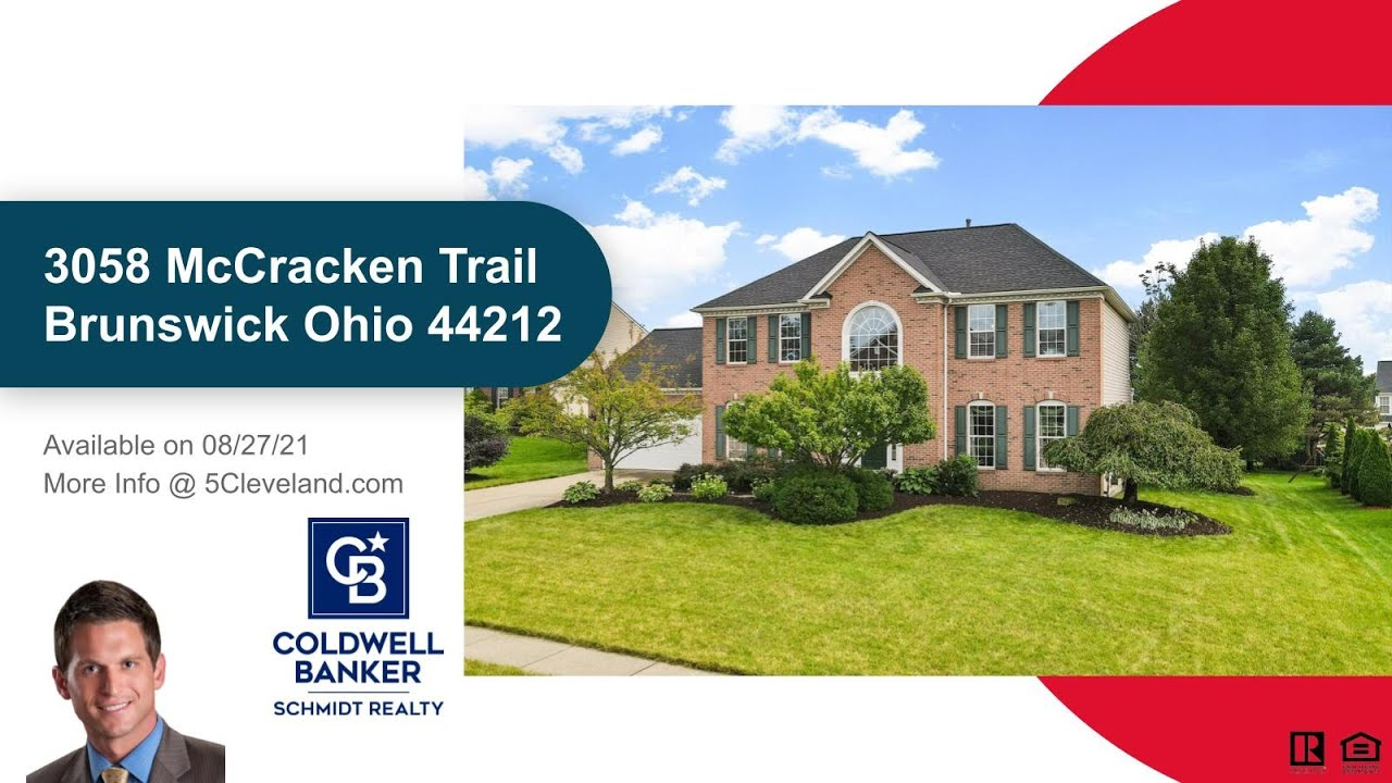 3058 McCracken Trail Brunswick OH 44212 Southpointe Home For Sale