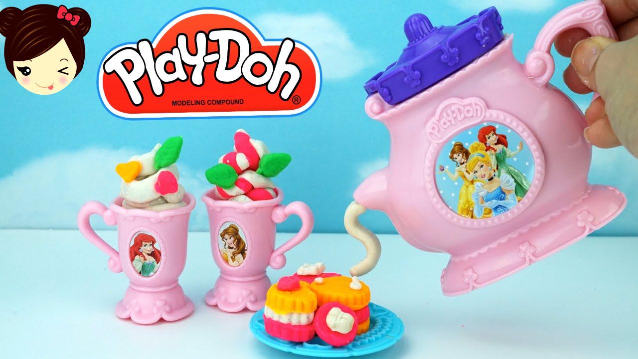 Juego Doh Princesas Disney De Ariel Bella Cenicienta Magico Play Te T3KlJ1Fc